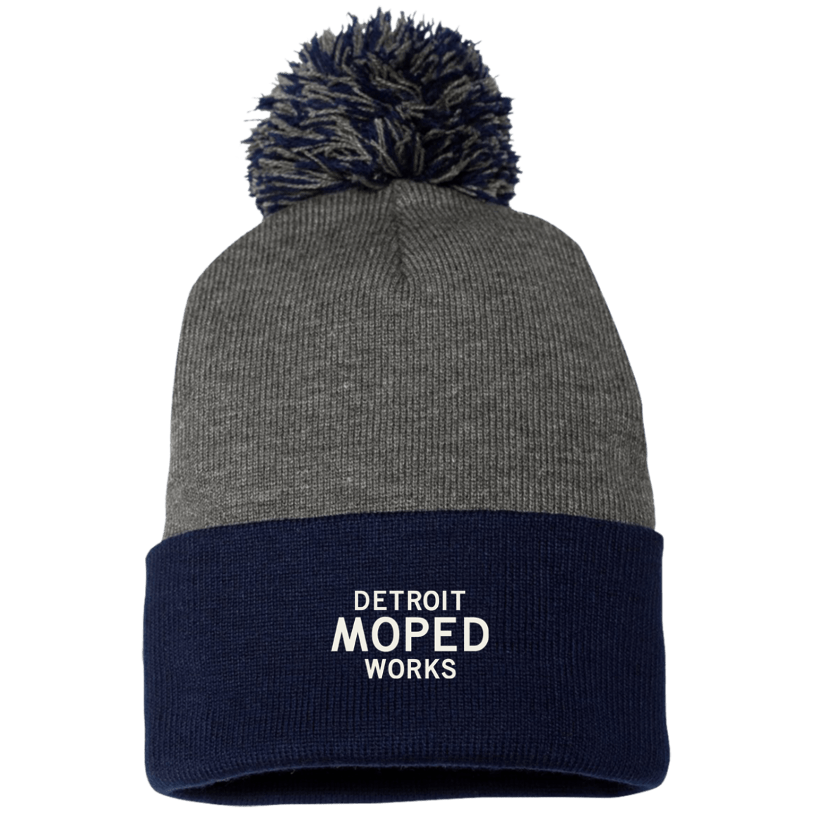 Fun-Detroit-Moped-Works-knit-caps-with-pom-poms-navy-dark-heather.png